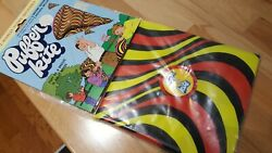 Vintage Puffer Kite 1970s Inflatable Kite Yellow And Red