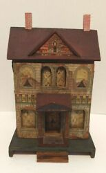 Antique R. Bliss Two Story Doll House