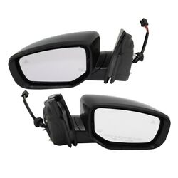 Pair Mirrors Set Of 2 Left-and-right Heated 6ac761x8aa, 6ac771x8aa Lh And Rh