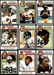 1979 Topps Football Almost Complete Set 5.5 - Ex+