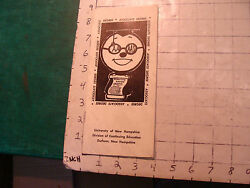 Vintage Nh Paper Item University Of Nh Division Of Continuing Ed. 1972--8pgs