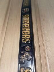 Pittsburgh Steelers Genuine Leather Belt And Matching Leather Buckle