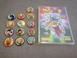 Panini Caps Dragon Ball Super Full Set Complet Serie Complete Comme Neuf
