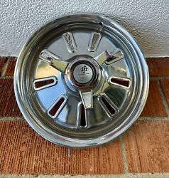 1964 Chevy Corvette Original Hubcap - With Brand New Spinner - Reconditioned