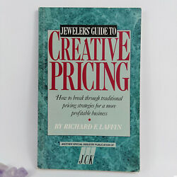 Jewelers Guide To Creative Pricing By R Laffin Making And Selling Jewellery