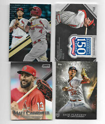 St. Louis Cardinals Team Lot 50 Cards Rookie Patch Insert Mcgwire Musial Molina