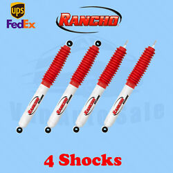 Rancho Kit 4 Front And Rear Rs5000x Shocks Fits 71-80 International Scout