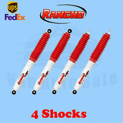 Rancho Kit 4 Front And Rear Rs5000x Shocks For 71-80 International Scout