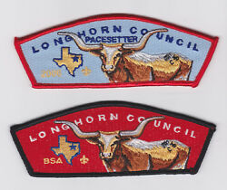 Usa Boy Scouts Of America - Bsa Longhorn Scout Council Pacestter 2006 Csp Set