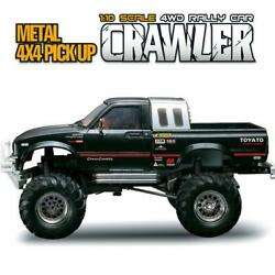 Hg 1/10 Scale Rc Pickup 44 Rally Car Crawler Kit Model Chassis Axles Shell