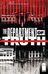 Department of Truth #5 First Print Cover A Image Comics 2021 Tynion