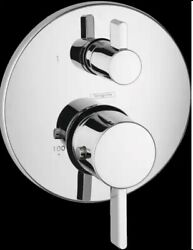 Hansgrohe 4231000 S Thermostatic Trim With Volume Control And Diverter Chrome