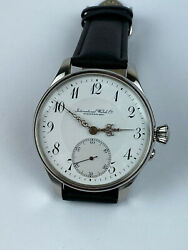 New Rare Schaffhausen Portuguese Marriage 46 Mm All Steel Limited Watch