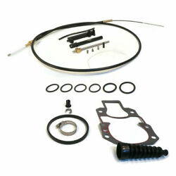 Lower Shift Cable Kit For 1991 Mercruiser Race 5800133dh 5800150dh 5801150dh