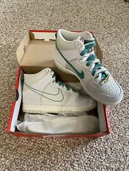 Nike Dunk High First Use Sail Gs Size 4.5y Dd0733-001 Confirmed Fast Ship