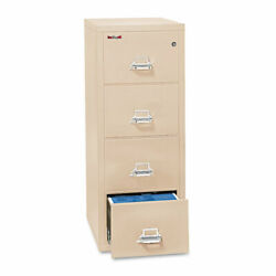 Four-drawer Vertical File 20.81w X 25d X 52.75h Ul 350 Degree For Fire Legal
