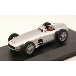 Scale Model Compatible With Mercedes W 196 1954 Silver 143 Whitebox Wb149