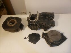 1980 Yamaha Yz250 Engine Crankcase Cylinder Clutch Cover Dannenberg Race Engines