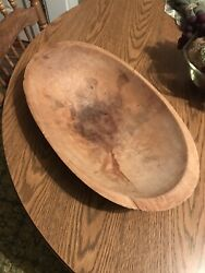 Vintage Wooden Dough Tray