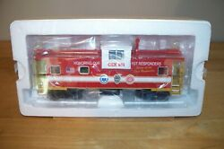 Mth Premier 20-91700 Csx First Responders Extended Vision Caboose