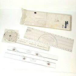 Davis Boat Marine Charting Kit 1980 - Replacement Parts - 3 Tools Included