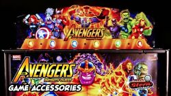 New Sold Out Stern The Avengers Pinball Topper In Box