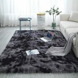 Fuzzy Abstract Area Rugs For Bedroom Living Room Fluffy Shag Fur Rug For Kids Nu