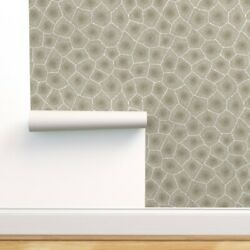 Wallpaper Roll Petoskey, Stone Print, Natural, Neutral, Nature, 24in X 27ft