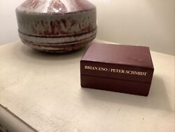 Brian Eno / Peter Schmidt - Oblique Strategies Cards - Limited Edition Burgundy