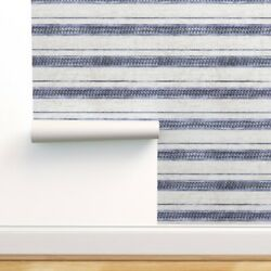 Peel-and-stick Removable Wallpaper French Stipe Modern Stripe Arrow Boho Indie