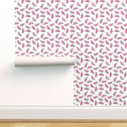 Peel-and-stick Removable Wallpaper Watermelon Little Arrow Designs Baby Fruit