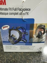 3m Ff-403andnbspultimate Fx Full Facepiece Reusable Respirator Large
