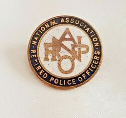 Narpo National Association Retired Police Officers Badge Enamel And Metal