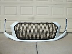 2015-2018 Audi R8 4s0 Front Bumper Cover And Grille Oem Facia