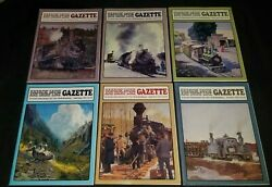 Narrow Gauge And Short Line Gazette Lot Of 6 Issues 1991 Complete Model Trains
