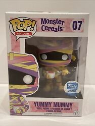 Funko Pop Ad Icons Yummy Mummy 07 Funko Excl Le2500 Hard Stack Grail Mint