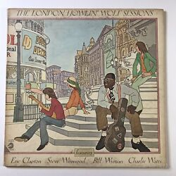 Howlin' Wolf London Sessions Chess Ch 60008 Stereo Lp Clapton Winwood Wyman