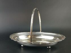 Antique Silver Plated Fruit Basket Cooper Brothers Sheffield