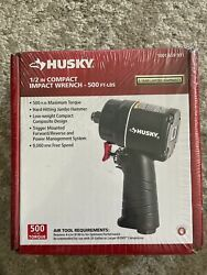 Husky 1/2in.inch Drive Compact Air Impact Wrench Pneumatic Power Tool Free Ship