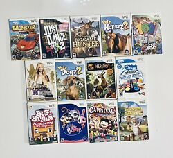 Lot Of 13 Different Nintendo Wii Games Great For Kids