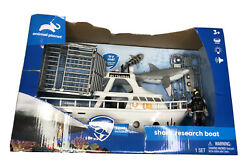 Animal Planet Shark Research Boat Toy