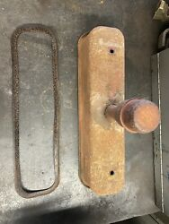 Farmall A,b,c Tractor Engine Valve Cover An Oil Breather Cap With Gasket Ih