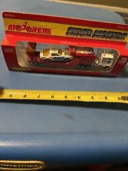 Majorette Kenworth Semi Truck Car Hauler Number One With Pontiac Made In France