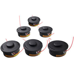 6pcs Trimmer Head For Stihl Autocut 25-2 String Trimmers Trimmer Bump Heads