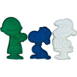 Vintage Hallmark Christmas Cookie Cutters Peanuts Charlie Brown Lucy Snoopy