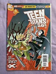 Teen Titans Go 23 Dc 2005 1st Appearance Of Red X Activity Book Present