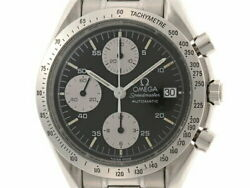 Omega Speedmaster Date 3511.50 Used Watch Auto Blk Dial Ss Daily Life Wp Men's