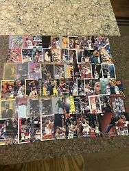 Alonzo Mourning Patrick Ewing Dikembe Mutombo Card Lot - 7 Rookies Included - 64