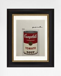 Andy Warhol Original Print With Certificate Of Authenticity