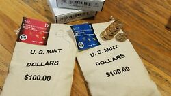 2 Sealed Mint Bags 200 2021 P And D New York American Innovation 1 Dollars Unc